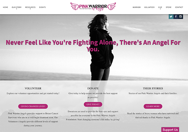 Pink Warrior Angels