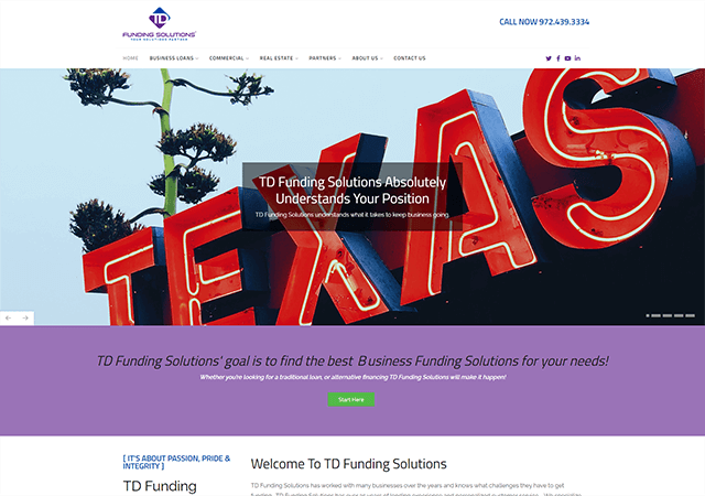 Tdfundings 2020 Client Site